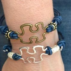 April is Autism Awareness month.   I will be donating 25% of my puzzle piece bracelet sales for the whole month to the New Beginnings 4 Tomorrow for young adults after the age of 21. You can choose from any of the puzzle piece bracelets on my page!
