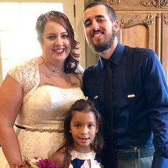Ryan recited a family vow to Melissa and Ella during the St Louis Mo, Wedding Officiant, Vows, Wedding Ceremony, Wedding Photos, Couples, Wedding Dresses, Fashion, Marriage Pictures