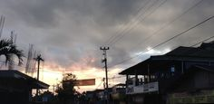 My sunset in Maguwo
