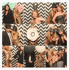 chevron photobooth backdrop--great ides