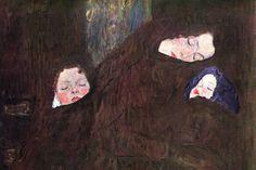 Mother with Children, by Gustav Klimt