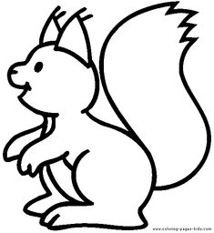 squirrels coloring pages - Google keresés