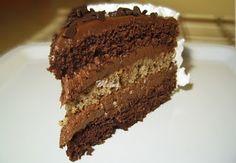 Tort cu ciocolata si nuca (2) | Dulciuri fel de fel