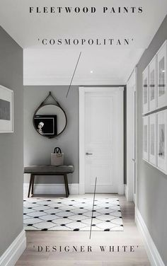 Grey has become the new neutral with a range of shades and depths to choose from. Why not try Cosmopolitan and Design White from the Fleetwood Popular Colours collection.