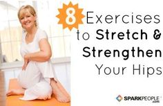 Runners and walkers, check this out: 8 Hip Flexor Stretches and Exercises for Healthy Hips.