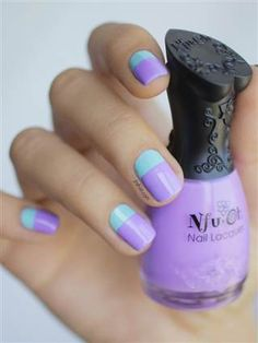 I am presenting before you 12 amazing summer blue nail art designs, ideas, trends & stickers of Love Nails, How To Do Nails, Pretty Nails, Colorful Nail, Nagellack Trends, Simple Nail Designs, Easy Nail Art, Simple Nails, Really Easy Nails