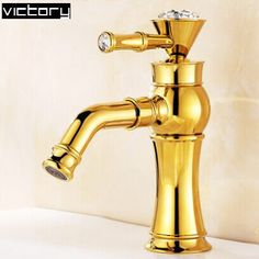 2014 Crystal bathroom faucets 360 ronating water faucet wash basin sink faucet Luxury antique bronze tap #Affiliate