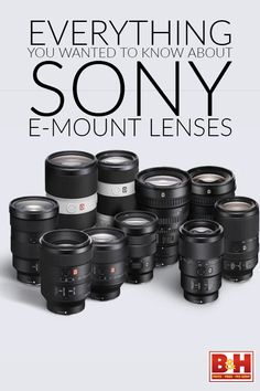 In the early days of the Mirrorless Revolution, manufacturers were taken to task for not providing a wide selection of smaller and lighter mirrorless lenses to go along with their new lineups of smaller and lighter mirrorless cameras. They heard and responded. Sony alone now offers a choice of more than two dozen dedicated full-frame E-Mount lenses and more than a dozen lenses to go along with its APS-C format E-Mount lenses. We put together a roundup of Sony's premium lens offerings.