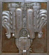 Ferrari 430 triptych by Andrzej Jakub Kapica