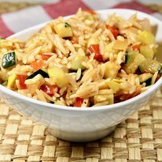 Regardless of whether you serve Orzo Primavera as a side dish or an entree (Meatless Monday), this is fantastic!  #Cook2Follow #AllrecipesAllstars #AllrecipesFaceless #AllrecipesTastemakers
