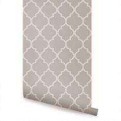 Moroccan Wallpaper - Peel and Stick - Simple Shapes Wallpaper Panels, Fabric Wallpaper, Wallpaper Roll, Peel And Stick Wallpaper, Cool Wallpaper, Moroccan Wallpaper, Moroccan Pattern, Design Repeats, Traditional Wallpaper