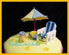 Beach Chair & Parasol Tutorial