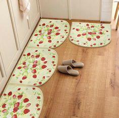 15 Beautiful Strawberry Kitchen Rugs Digital Image Idea  Kitchen Stunning Kitchen Rug Decorating Design