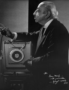 Yousuf Karsh (1908 – 2002) was an Armenian-Canadian photographer, and one of the most famous and accomplished portrait photographers of all time. Each of his portraits tells you all about the subject. He felt as though there was a secret hidden behind each woman and man.  Karsh was a master of studio lights. One of Karsh's distinctive practices was lighting the subject's hands separately. Karsh's portraits communicate with people.