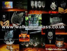 I ENGRAVE LIKE NO ONE ELSE!  #Bespoke #Engraved #Glass & #Crystal More Engraving you haven't seen from 2014! www.walkingonglass.co.uk   www.facebook.com/walkingonglass.co.uk @Glassforwalkers