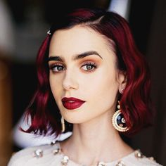 Lily Collins photographed by  Paley Fairman
