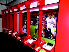 Vestuario Sevilla FC