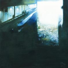 IN THE BUNKER III, acryl, oil on canvas, 100 x 100cm, 2013,  BUY IT HERE: http://www.almondarte.com/products/view/10049