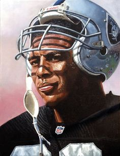 Marcus Allen, Oakland Raiders by Paul Lempa