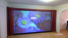 WHAT SO CALL HIGH GAIN PROJECTION SCREENS AND SCREEN PAINT CAN'T DO!