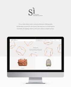 Sì Accessories on Web Design Served