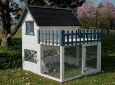 Backyard Chicken Coop Plans, Building A Chicken Coop, Chickens Backyard, Bunny Beds, Bunny Room, Bunny Cages, Rabbit Cages, Outdoor Rabbit Hutch, Rabbit Enclosure