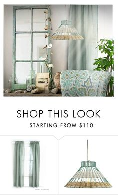 """""""Summer Interiors - 2"""" by erina-i on Polyvore featuring interior, interiors, interior design, home, home decor, interior decorating, Pine Cone Hill and Holly's House"""