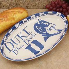 Duke Blue Devils Game Day Serving Platter