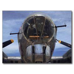B-17G Flying Fortress Postcard