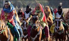 Omani royal horse festival