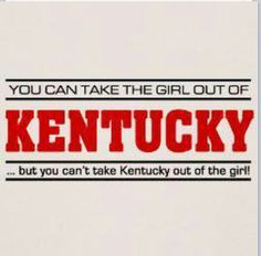 the only thing that would make this more perfect is if the Kentucky was in blue