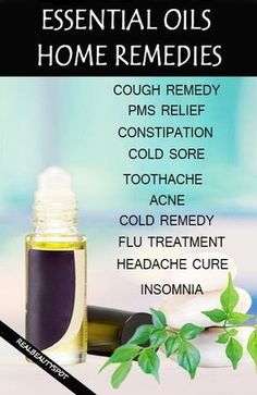 Home Remedies With Essential Oils – Essential oil finds a lot of uses in terms of beauty as we all know,