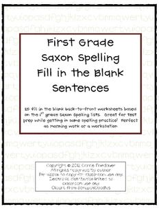Printables Saxon Phonics Worksheets saxon phonics words and spelling on pinterest this packet is 25 worksheets that are to be printed frontback pages in all of grade fill the blank sentences i used each