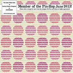 Pin Hop June 2013   A Print and Pattern Design Feast on Pinterest