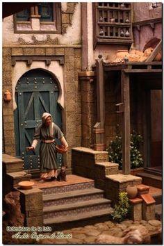álbumes de fotos Diy Nativity, Christmas Nativity Set, Christmas Village Display, Christmas Carol, Asian House, Architectural Sculpture, Old Egypt, Islamic Architecture, Arabian Nights