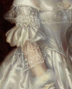 "daughterofchaos: ""Maurice Felton, Portrait of Mrs Alexander Spark, detail, 1840 """