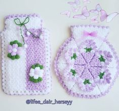 Crochet Scrubbies, Pot Holders, Lily, Facebook, Modern, Painting, Needlepoint, Trendy Tree, Hot Pads