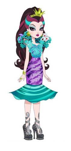 Lizzie Hearts, High E, Raven Queen, Ever After High, Art Portfolio, Fashion Sketches, Traditional Outfits, Monster High, Lisa