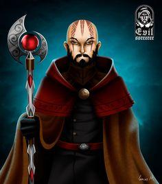 Self Portrait by A-Evil-Sorcerer on DeviantArt
