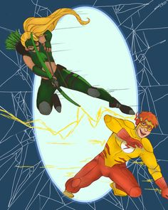Wally and Artemis by ~mebellis on deviantART