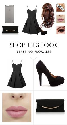 """A Night Out"" by maya-rose16 on Polyvore featuring Glamorous, Carvela Kurt Geiger and Native Union"