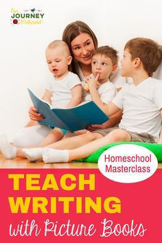 Teaching writing can be fun and relatively easy with the help of picture books. This masterclass will show you how to use simple picture books to develop incredible writing skills in students from grades. Learning To Write, Teaching Writing, Writing Skills, Teaching Tips, Hands On Activities, Educational Activities, Homeschool High School, Homeschooling