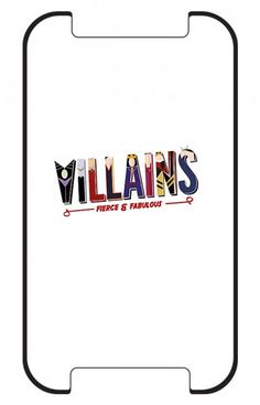 #DisneyVillains iPhone Case!