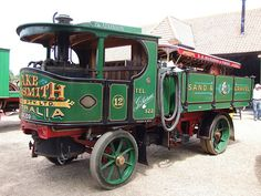 Atkinson Steam wagon | Flickr - Photo Sharing!