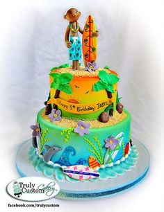 Surfs Up! Cake