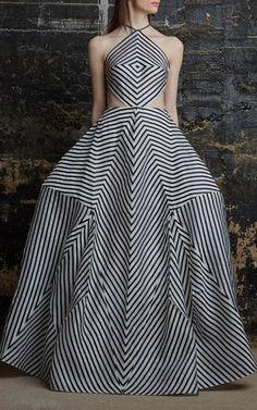 Silk Organza La Scarpa Gown  by Rosie Assoulin