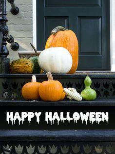 """Happy Halloween"" decal"