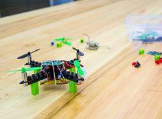 DIY LEGO drone from kitables brings fun building experiences  www.designboom.com