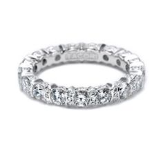 Tacori wedding band! Love it! Have to have the diamonds all the way around, because when you wave it has to bling!