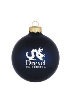 Drexel Dragons Matte Ornament - 15710333